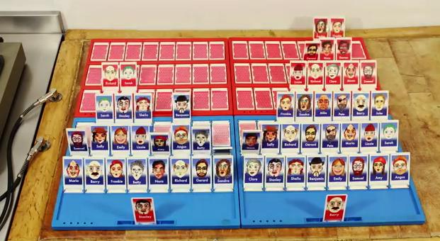 Videoclip hecho con juegos de mesa clásicos