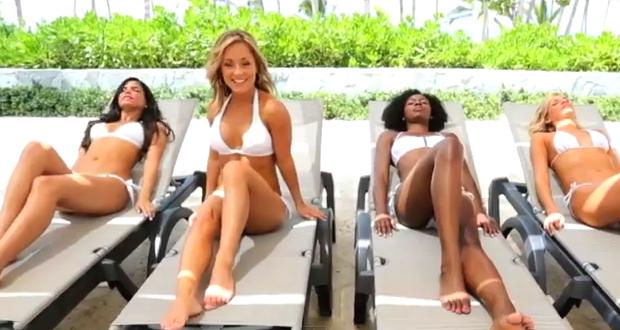 Las Cheerleaders de los Miami Dolphins al ritmo del ''Call Me Maybe'' de Carly Rae