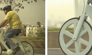 Una bicicleta totalmente funcional a base de cartón que sólo cuesta 7 euros