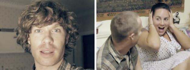 Se hace una peluca con su propio pelo para gastarle una broma a amigos y familia