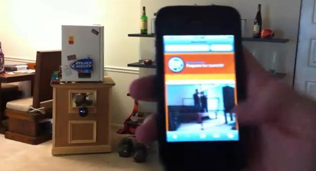 Una nevera con un cañón que lanza las latas de cerveza. Y todo controlado desde el móvil