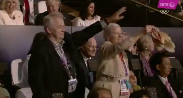 ¿Saludo nazi en la inauguración de los Juegos Olímpicos de Londres 2012?