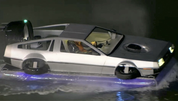Construye su propio DeLorean Hovercraft