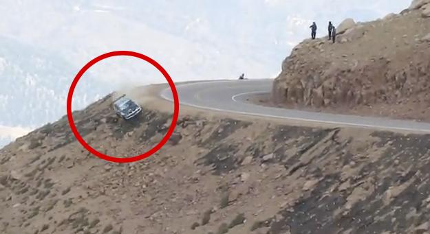 Jeremy Foley sufre un brutal accidente en Pikes Peak 2012