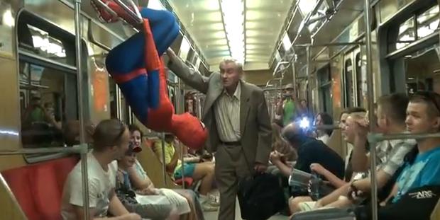El Spiderman polaco