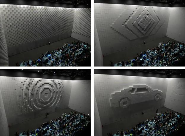 Hyper-Matrix, impresionante obra de arte mecatrónica