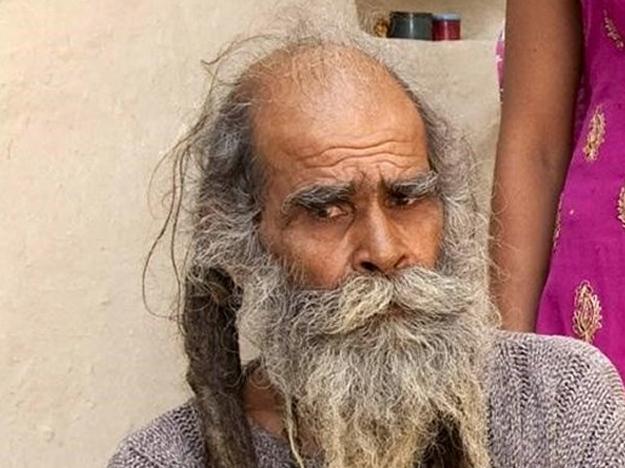 Kailash Singh, el hombre que lleva 38 años sin bañarse