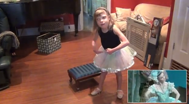 Una niña autista con Síndrome de DiGeorge memoriza e interpreta el ballet Coppélia