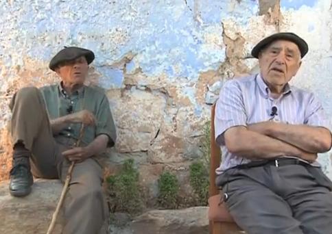 Dos abuelos de Soria predicen la crisis en 2007