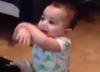 Un bebé de 7 meses bailando el Gangnam Style. No hay truco, mira