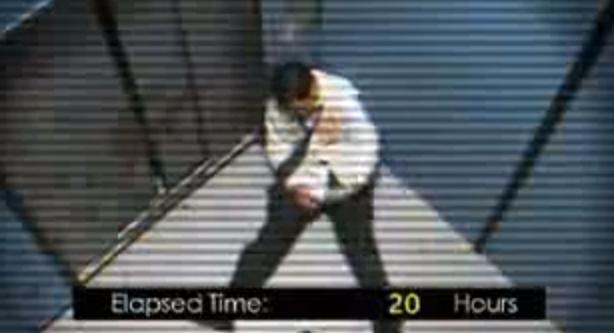 Atrapado en un ascensor 41 horas con diarrea