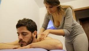 limpiar masaje de final feliz mamada