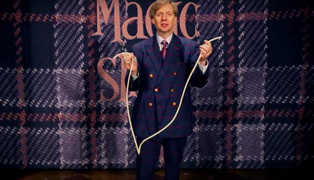 Ilusionista de Las Vegas va más allá con el truco de la cuerda