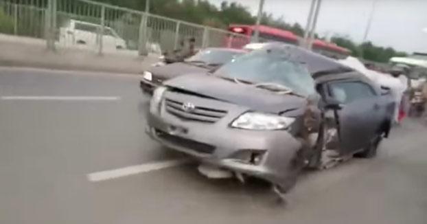 Cuando acabas de tener un accidente brutal de coche pero tu novia te dice que está sola en casa