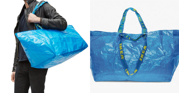 la genial respuesta de ikea al diseo de balenciaga inspirado en sus bolsas