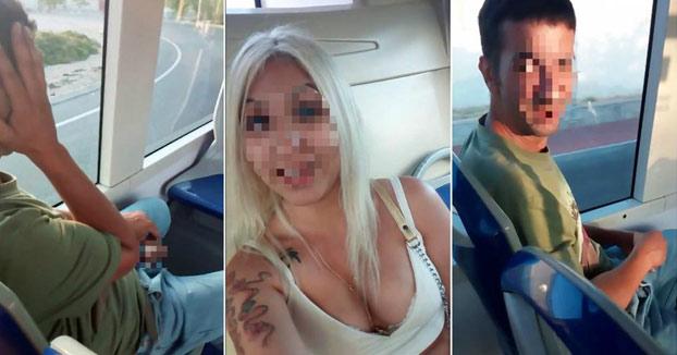 Graba a un hombre que se masturbaba mientras la miraba en un autobús de Palma de Mallorca