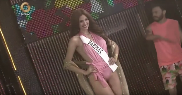 Pezón en Miss Venezuela 2017
