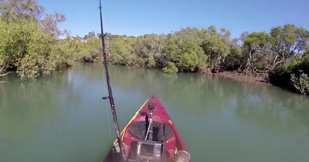 Cuando finalmente encuentro un lugar tranquilo para la pesca... sucede lo siguiente...