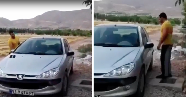 Cuando tienes un Peugeot 206 y se te olvidan las llaves en el interior del coche