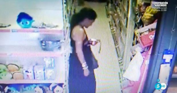 Aída Nízar pillada robando yogures en un supermercado de Ibiza (Vídeo completo)