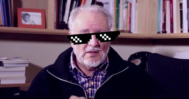 Consejos de Julio Anguita a la juventud y a los 'rebeldes de pacotilla'