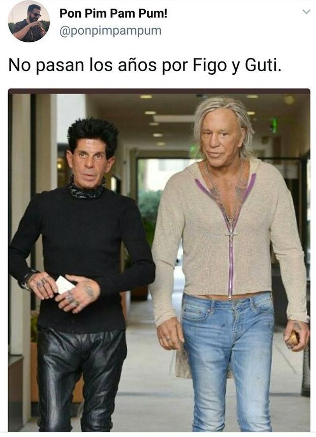 No pasan los años por Figo y Guti