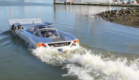 Sea Lion, el coche anfibio más rápido del mundo