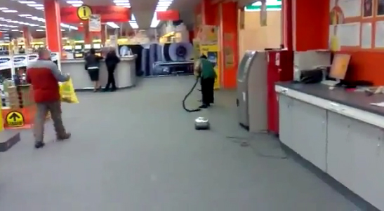 El primer aspirador del mundo con wifi