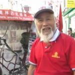Recorre 60.000 km en bicicleta para llegar a Londres 2012