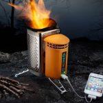 Carga tu teléfono móvil con una estufa para cocinar