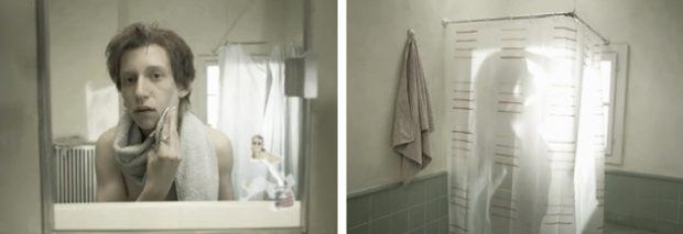 ''Le Miroir'', un corto de la vida vista desde el espejo del cuarto de baño