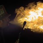 Lanzando fuego por la boca a 2.000 fotogramas por segundo