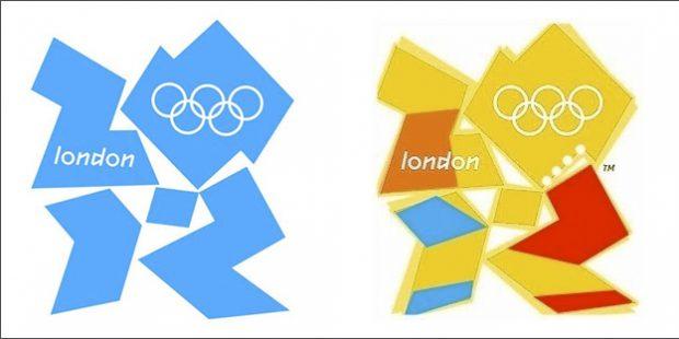El logotipo de los Juegos Olímpicos de Londres 2012 parece Lisa Simpson haciéndole una felación a Bart