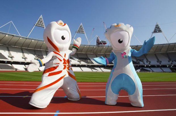 Las mascotas de los Juegos Olímpicos de Londres 2012: Wenlock y Mandeville