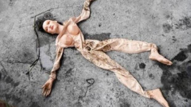 18 policías acuden al rescate de una mujer que resultó ser una muñeca hinchable