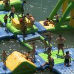 Wibit, el parque acuático hinchable