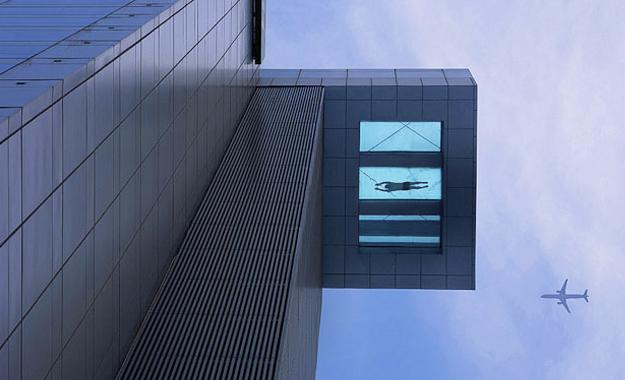 El hotel Holiday Inn de Shanghai tiene una piscina única en el piso 24