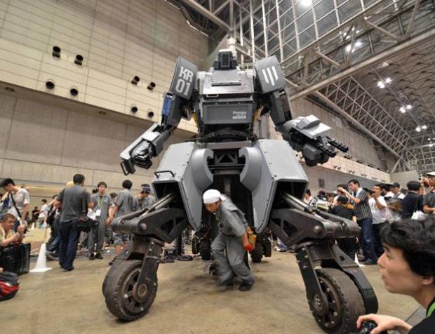 Cómo conducir tu propio robot de combate