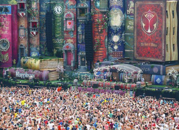 Fotografías del Festival Tomorrowland 2012