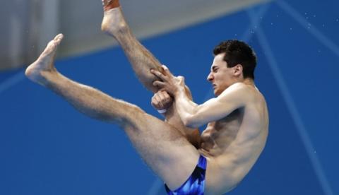 Stephan Feck realiza el peor clavado de Londres 2012 y de toda la historia Olímpica
