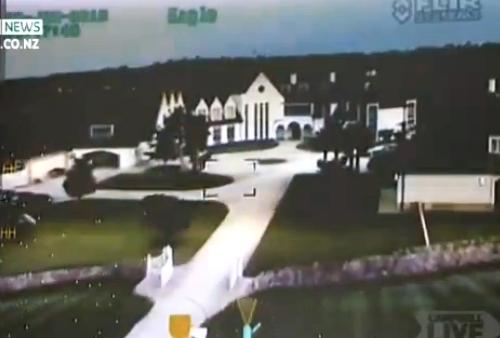 El vídeo del asalto a la mansión del fundador de Megaupload