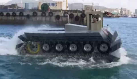 CAAT, el nuevo tanque anfibio de DARPA