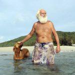 La historia de David Glasheen, el Robinson Crusoe australiano al que quieren echar de su isla