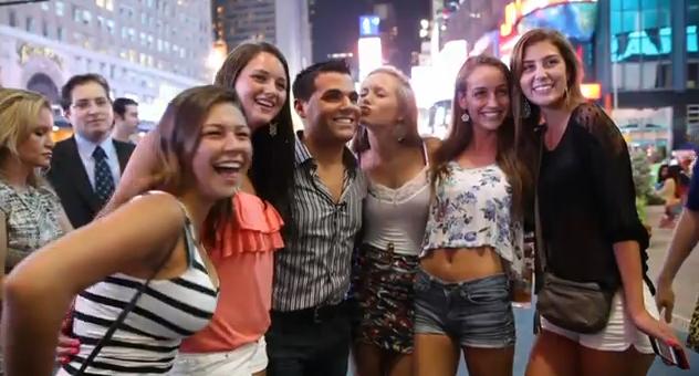 Experimento: Se hace pasar por un famoso en Times Square