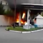 Explosión en una gasolinera rusa
