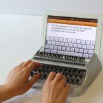 Máquina de escribir para el iPad