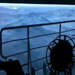 Grabando desde un portaaviones ruso