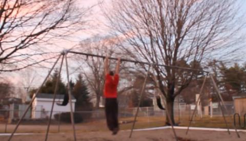 Entrenando para ser un futuro atleta olímpico
