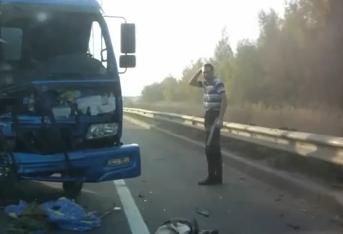 El camionero más afortunado de Rusia