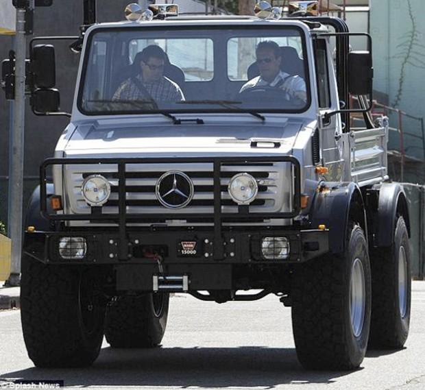 La super camioneta de Arnold Schwarzenegger